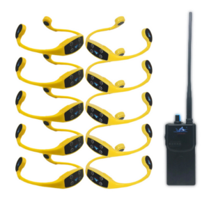 Pack 10 casques + Talkie Walkie