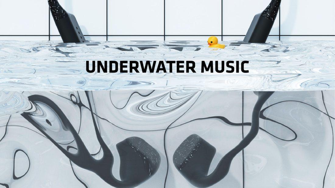 Découvrez un étonnant casque audio pensé pour la natation !